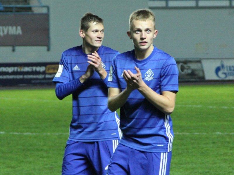 Брянское «Динамо» выпустило в одном матче семерых своих воспитанников