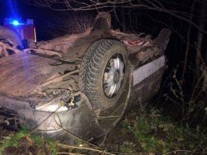 Водитель LADA разбился насмерть, улетев в кювет по дороге на Клетню, пассажирка госпитализирована