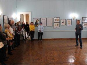 В Овстуге  торжественно открылись «Лики Гоголя»
