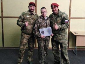 Инструктор спецподготовки из Брянска аттестована инструктором федерального Центра спецназа