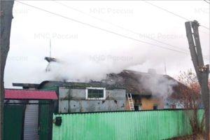 В Брянске в пожаре на переулке Тельмана погибли муж с женой