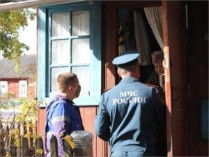 Брянские газовики проводят рейды по домам частного сектора вместе со спасателями