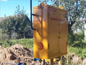 В брянском посёлке Шведчики произведена замена 19 пунктов редуцирования газа