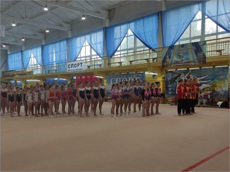 Брянские гимнастки в своём зале не пробились на подиум первенства ЦФО