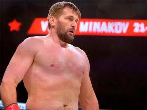 Виталий Минаков выйдет в клетку Bellator Moscow против Саида Соумы