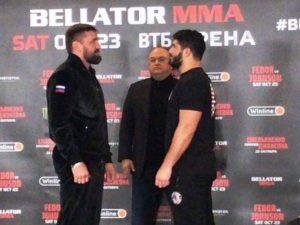 Виталий Минаков оказался на 10 кг тяжелее своего соперника по Bellator 269