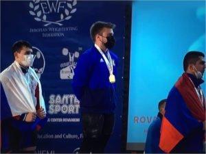 Брянский тяжелоатлет завоевал серебряную медаль европейского первенства