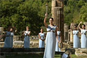 В Греции зажжён огонь Олимпиады-2022