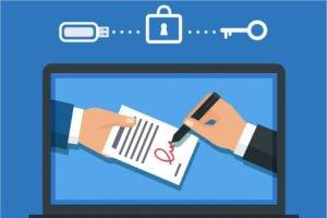 Бесплатную электронную подпись в налоговой получили уже около 600 брянских налогоплательщиков