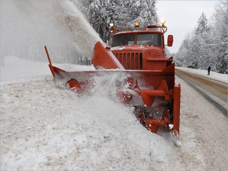 Федеральные трассы в Брянской и соседних областях зимой будут убирать более 300 дорожных машин